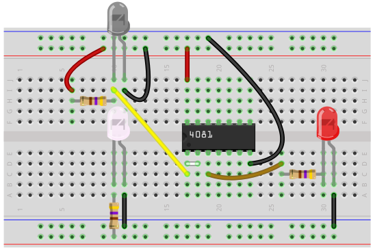 how to build a proximity detector circuit proximity detector breadboard circuit