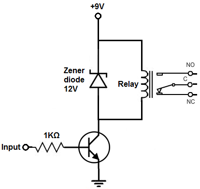 relay wiring diagram with diode with Relay Driver Circuit on Wiring Diagram Motor Symbol furthermore Relay Driver Circuit also Automatic Street Light further Charging Relays as well JQC 3FF 05.