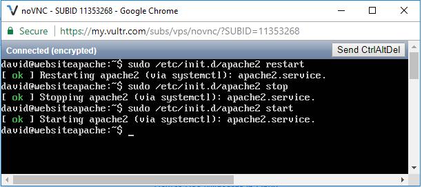 Apache service