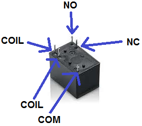 how to connect a single pole double throw spdt relay in a circuit rh learningaboutelectronics com dpdt relay switch wiring