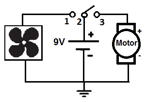 spdt toggle switch circuit