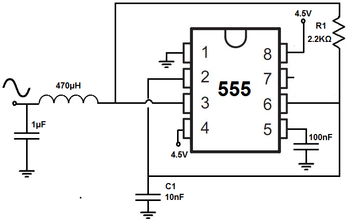 How To Build A Sine Wave Generator With A 555 Timer Chip