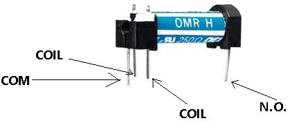 how to connect a single pole single throw spst relay in a circuit