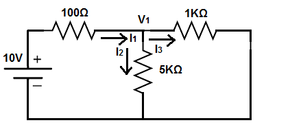 Superposition theorem circuit second power source removed