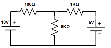 Superposition theorem circuit