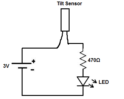 How to Build a Simple Tilt Sensor Circuit