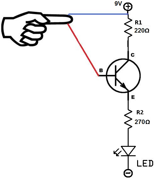 touch sensor circuit schematic