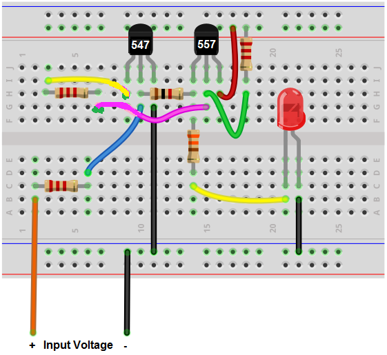 How to Build a Latch Circuit with Transistors