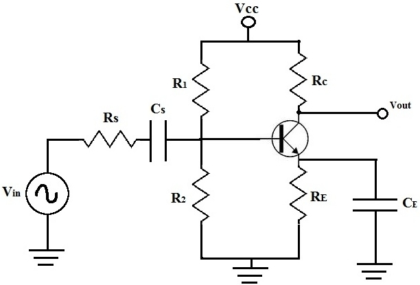 Circuito Transistor : Dc analysis of a bipolar junction transistor circuit