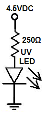 UV LED Circuit