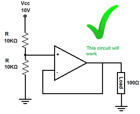 what is a voltage follower?voltage divider circuit that works