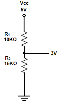 Voltage divider example