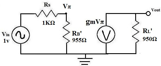 example of ac transistor circuit analysis of the mid