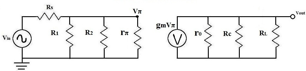 AC Transistor Equivalent of Circuit