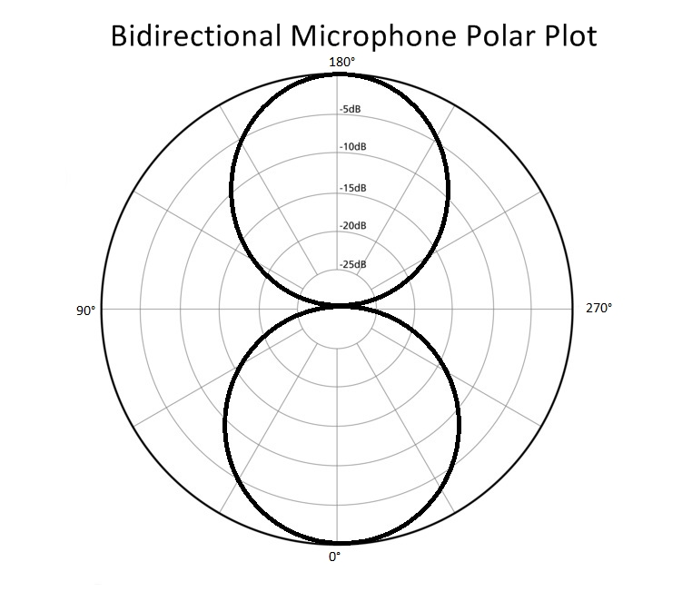 Bidirectional Polar Plot