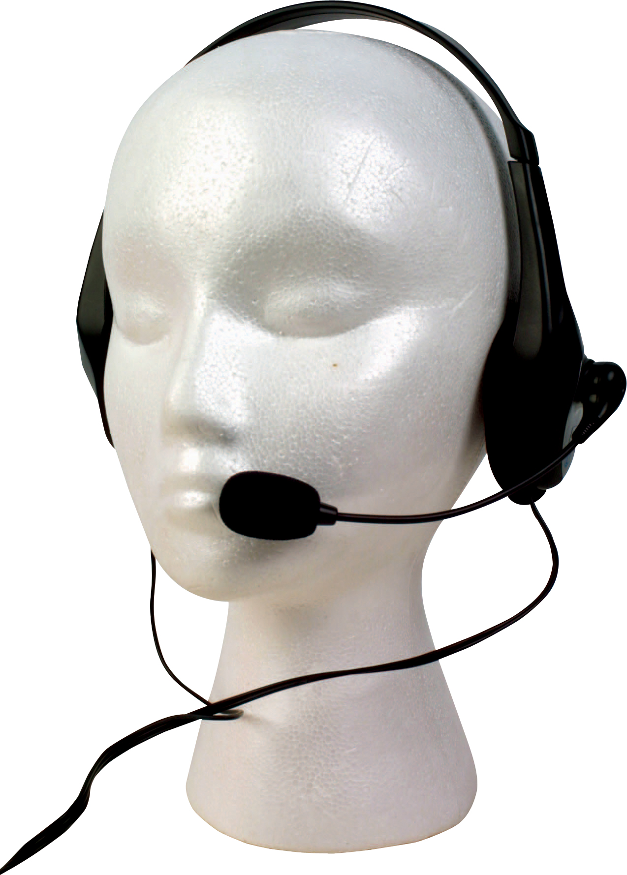 Microphone Boom Headset on Dummy
