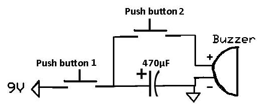 how to make a buzzer produce a chirping sound