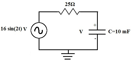 First Order Differential Equation of a Circuit