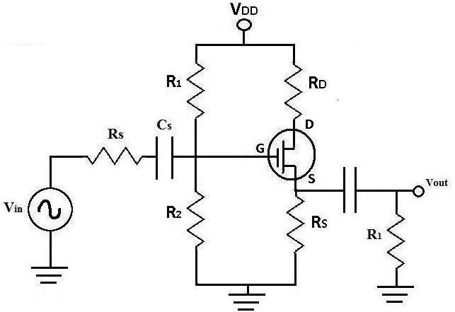 dc analysis of a mosfet transistor circuit