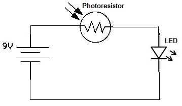 Photoresistor Circuit