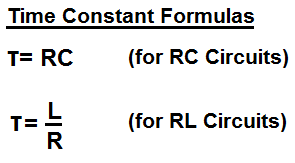 RC & RL Time Constant Calculator