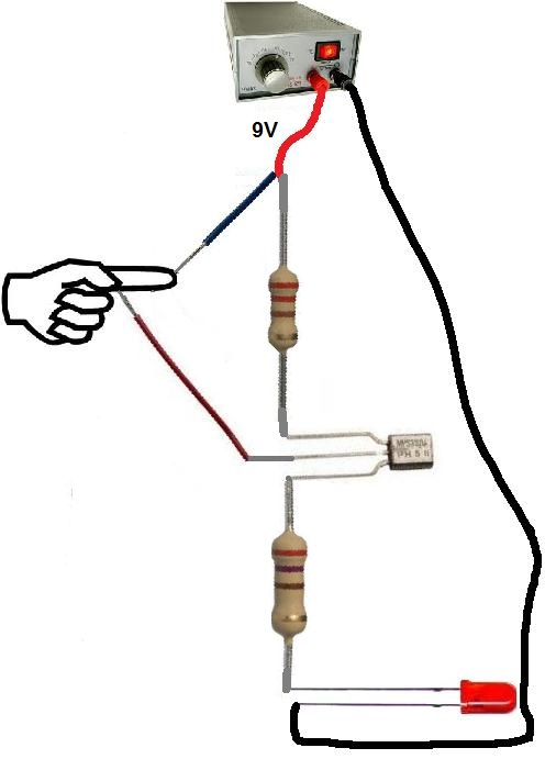 how to build a touch sensor circuit touch sensor circuit