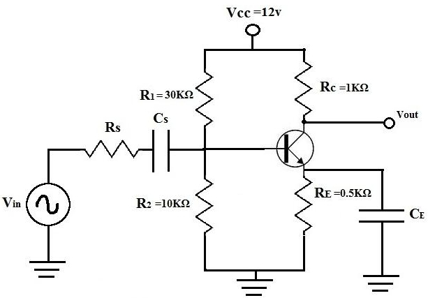 example of dc analysis of a bipolar junction transistor