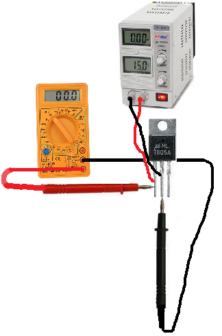 Voltage Regulator Input Voltage Test